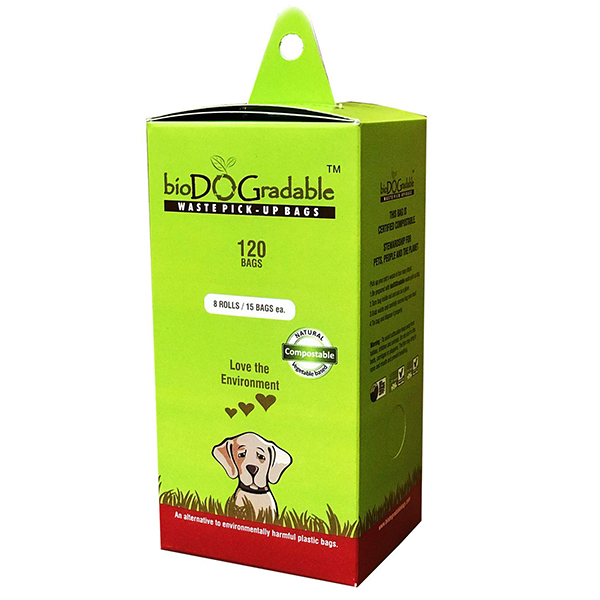 biodoggradable dog waste bags
