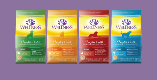 Wellness Complete Health Dry Dog Food with Grains options