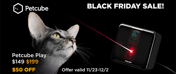Petcube Play black friday deal