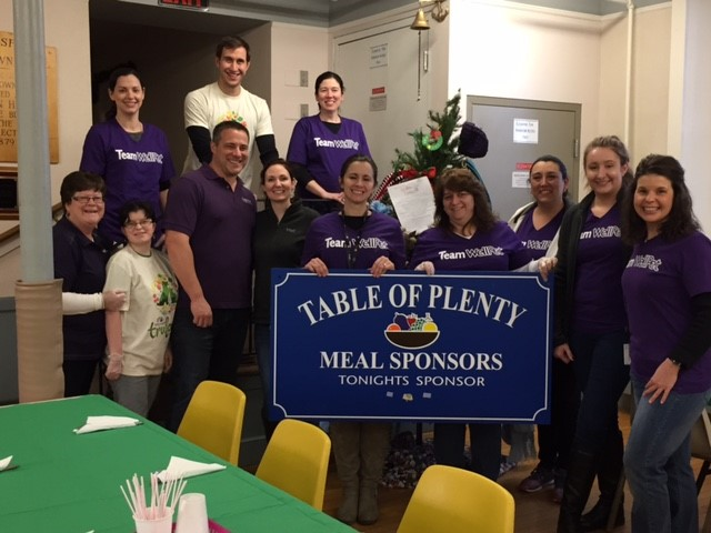 WellPet team volunteer event at Table of Plenty