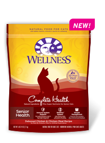 Wellness Complete Health Senior Health Dry Cat Recipe