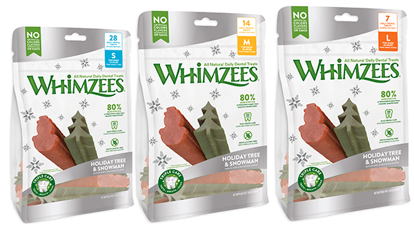 WHIMZEES holiday shapes