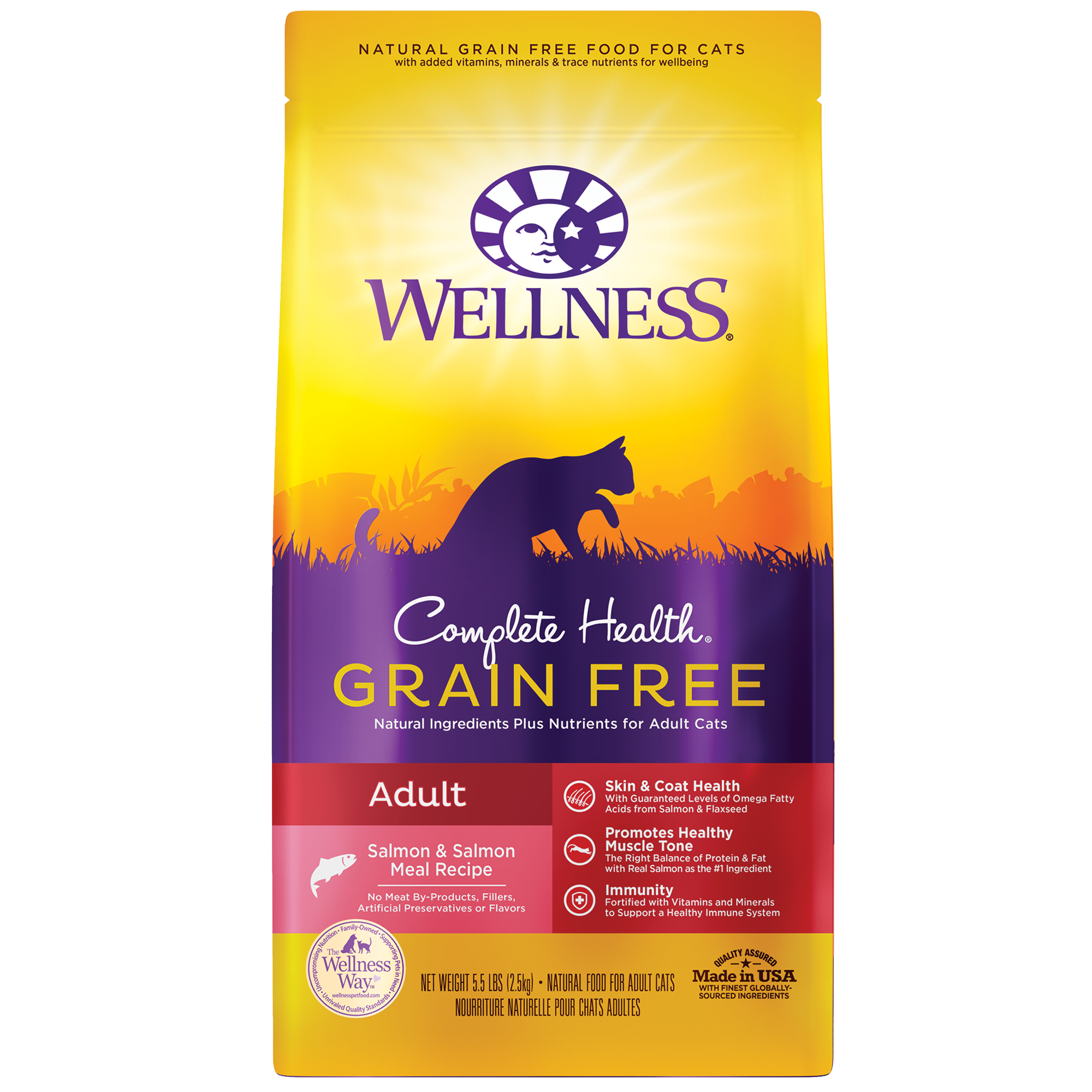 Wellness Complete Health Grain Free Adult Salmon & Salmon Meal