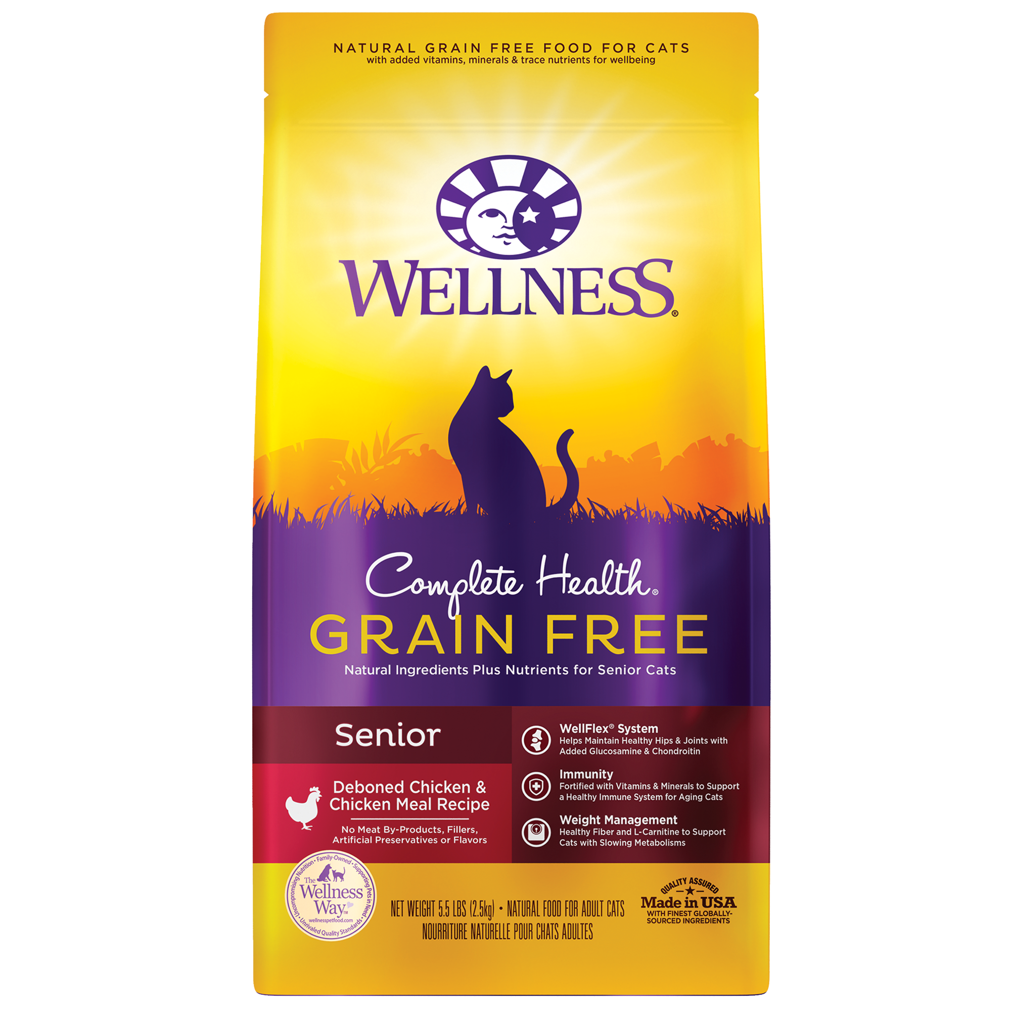 Wellness Complete Health Grain Free Senior Dry Food
