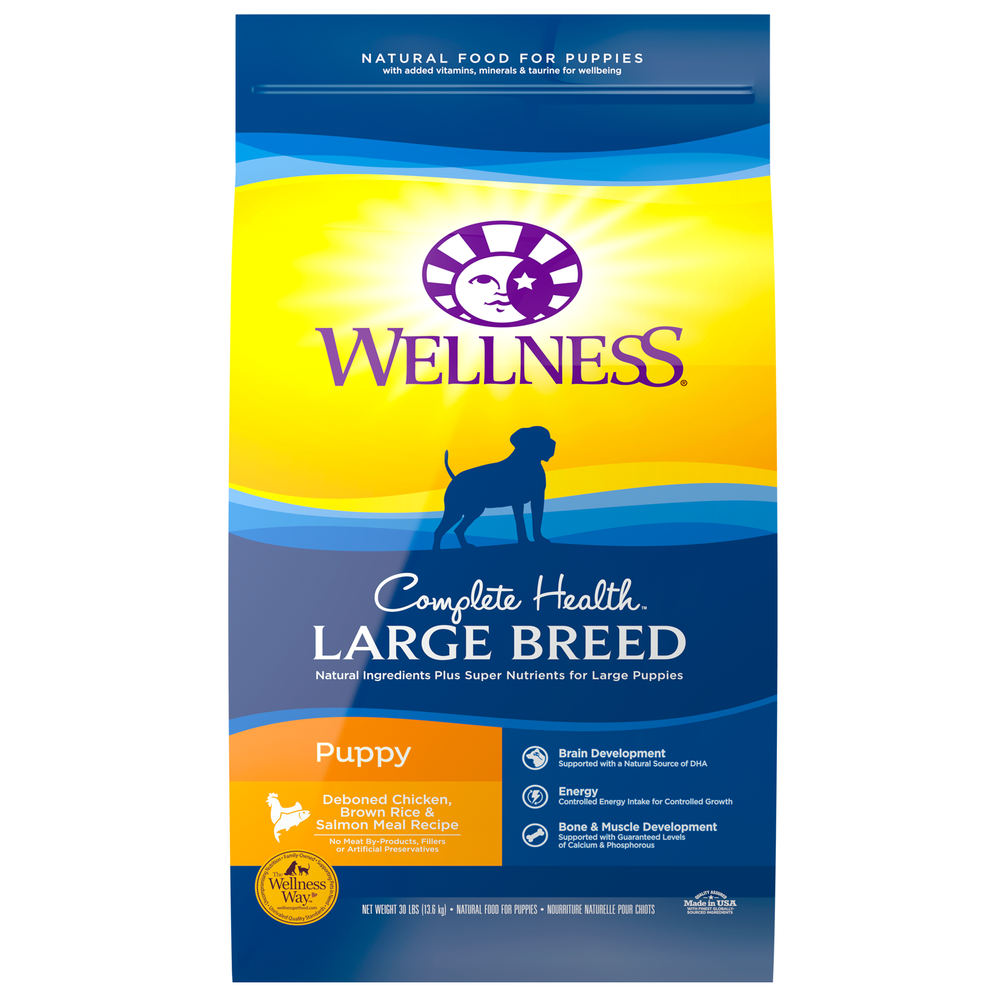Wellness Large Breed Puppy Food Food