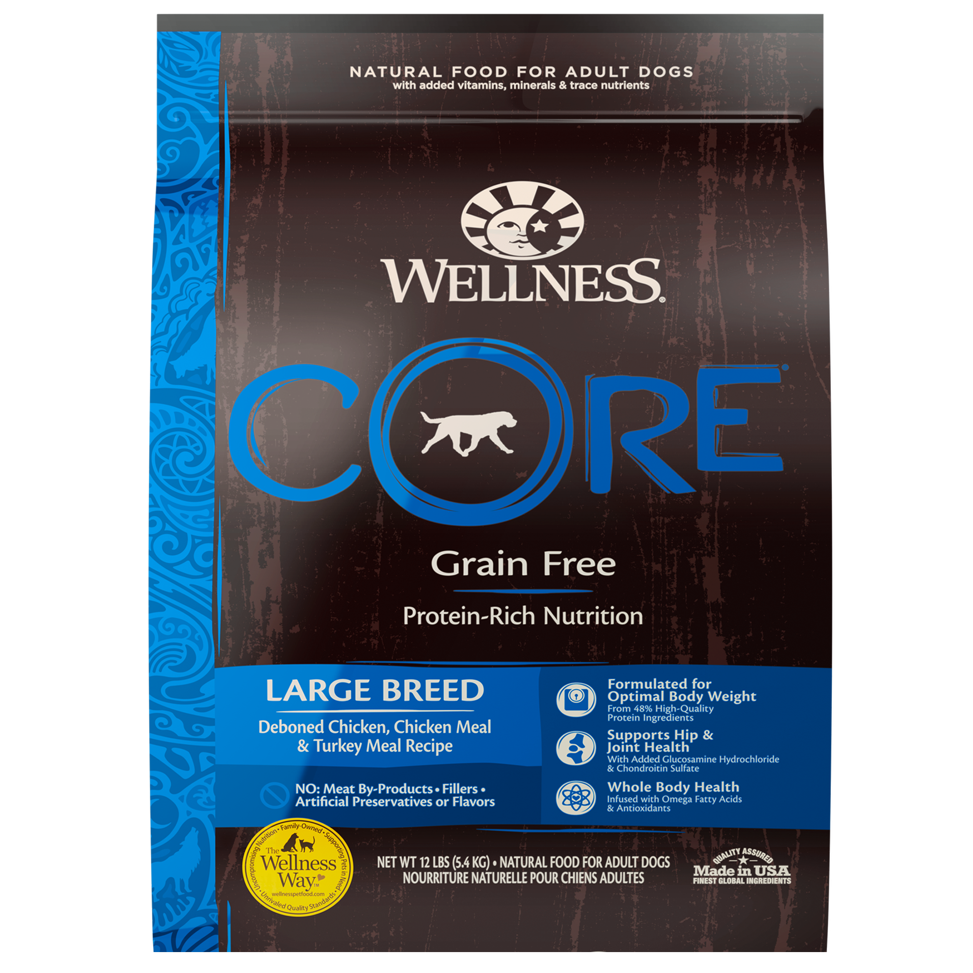 Core Large Breed Large Breed Wellness Pet Food