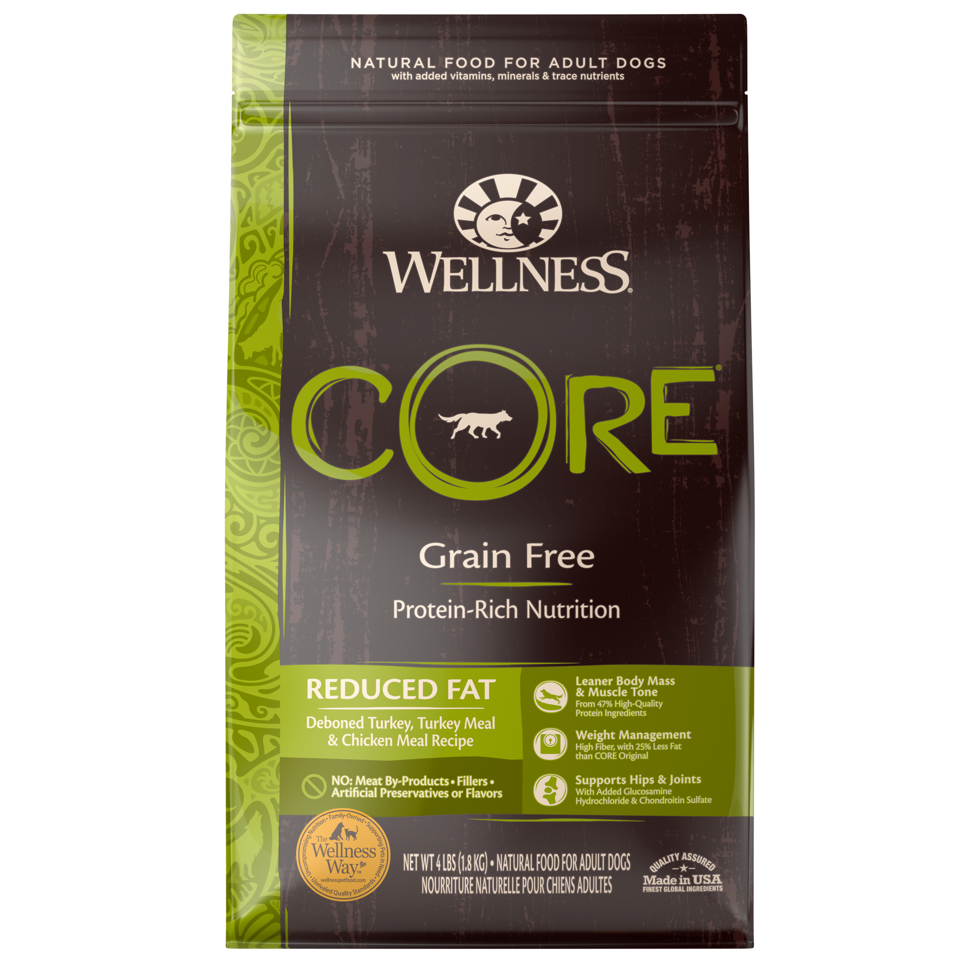 Core Reduced Fat Reduced Fat Wellness Pet Food