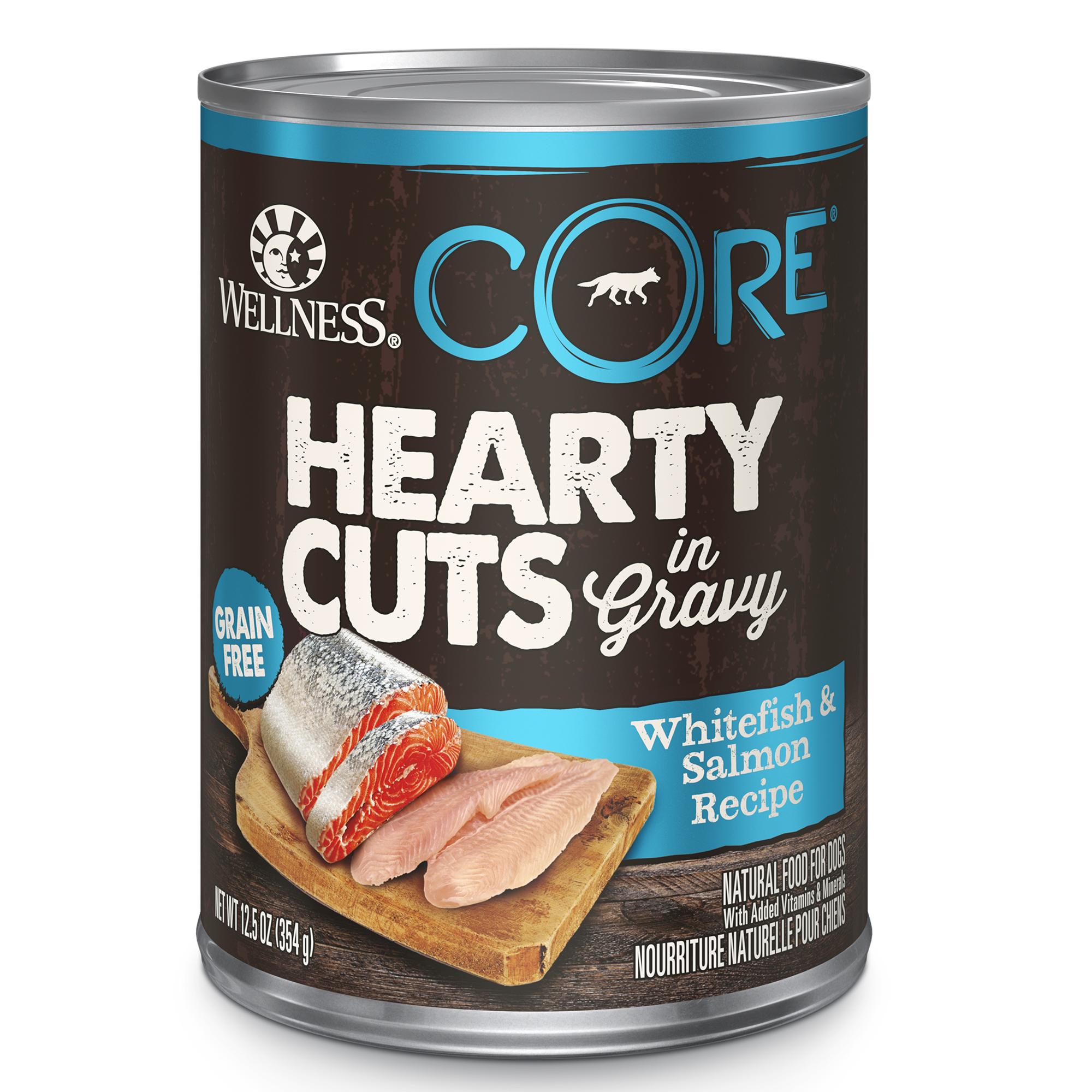 Hearty Cuts Whitefish and Salmon