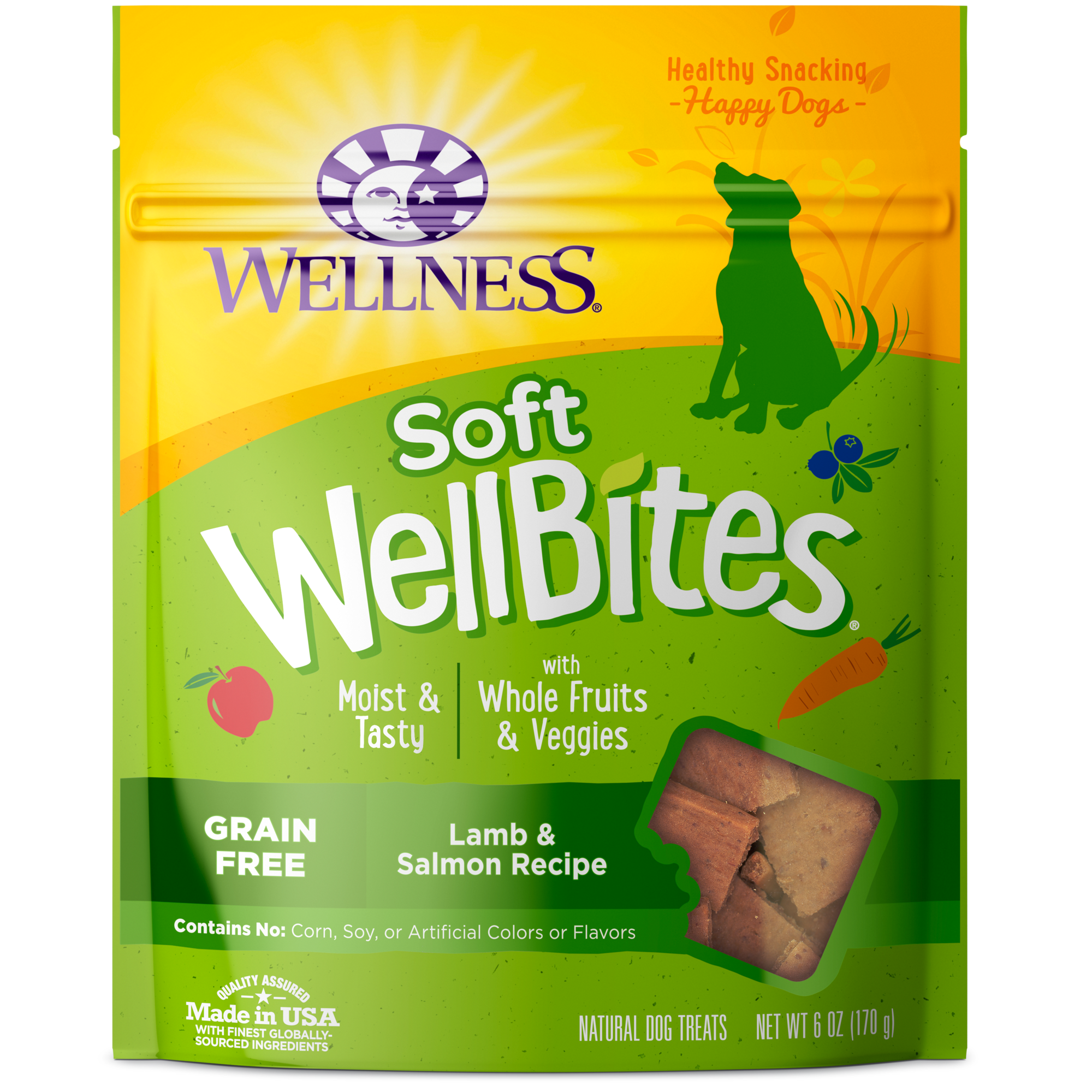 Wellness Wellbites Lamb and Salmon