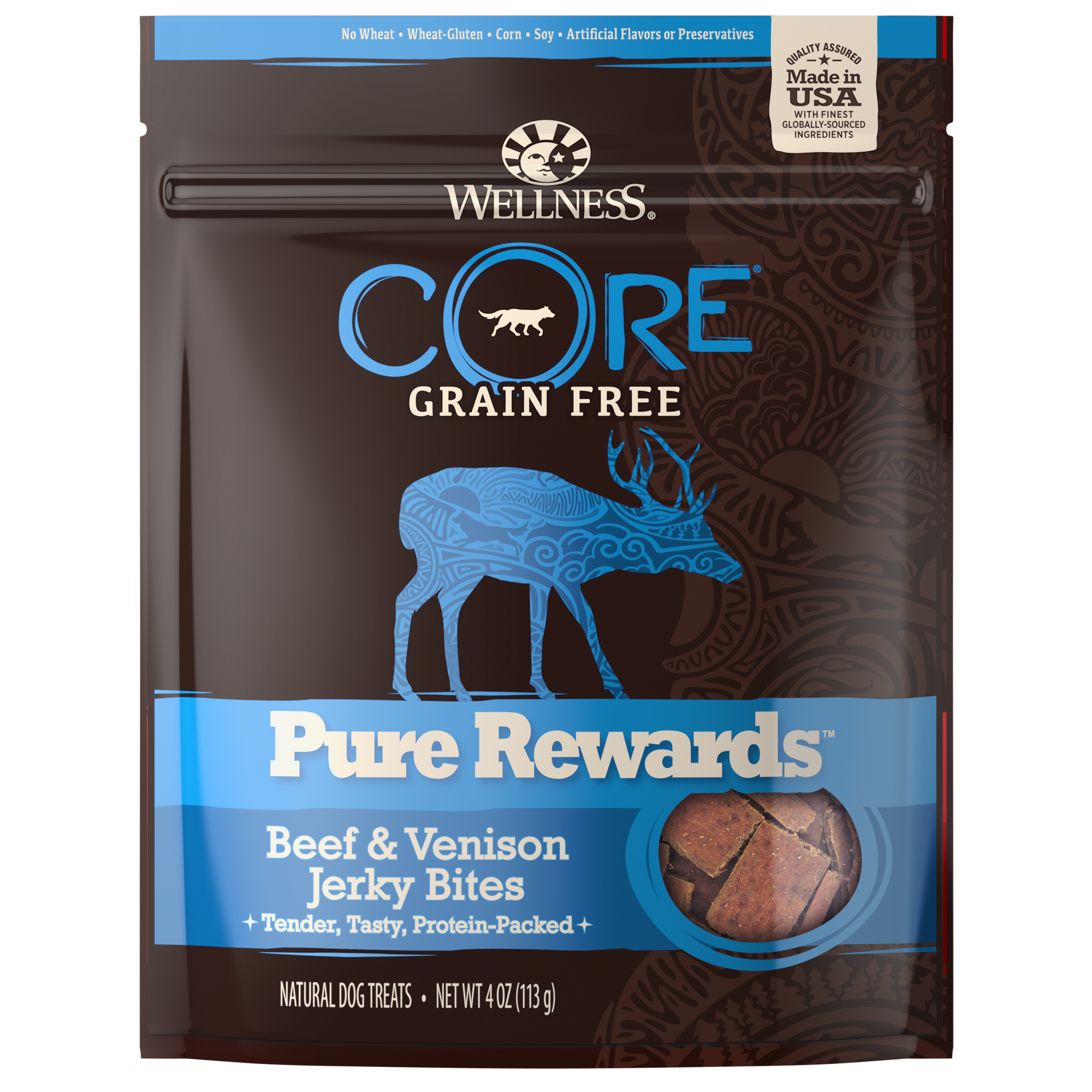Wellness Treats CORE Pure Rewards Beef and Venison