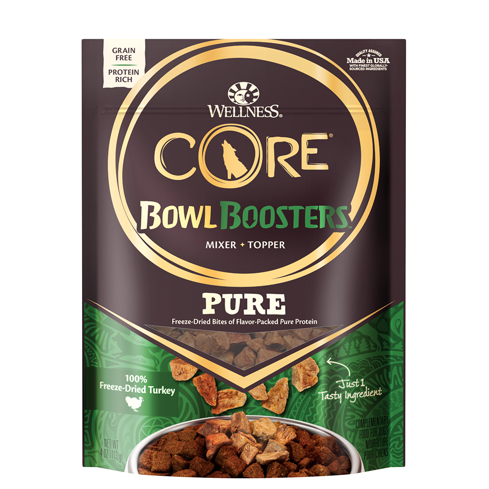 Wellness CORE Bowl Boosters PURE 100% Turkey