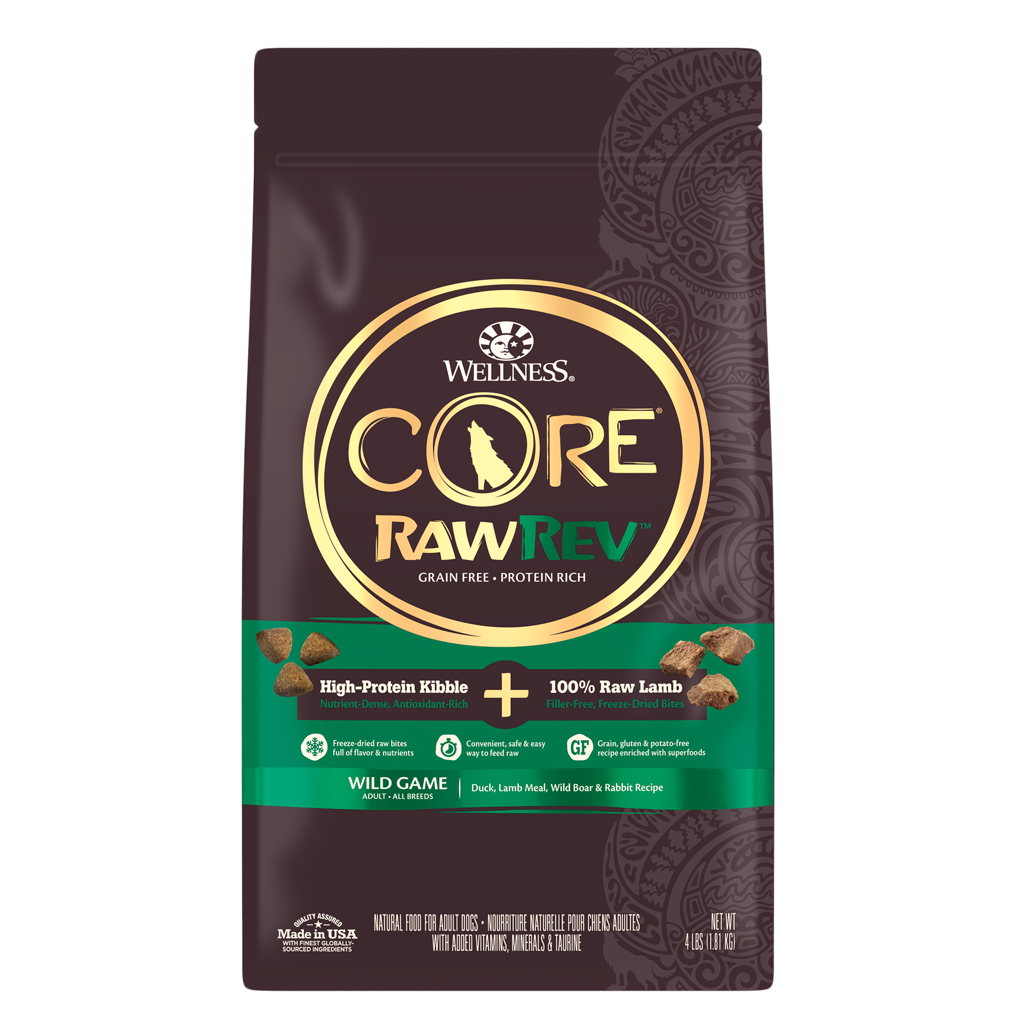 CORE RawRev Wild Game Dog Grain Free