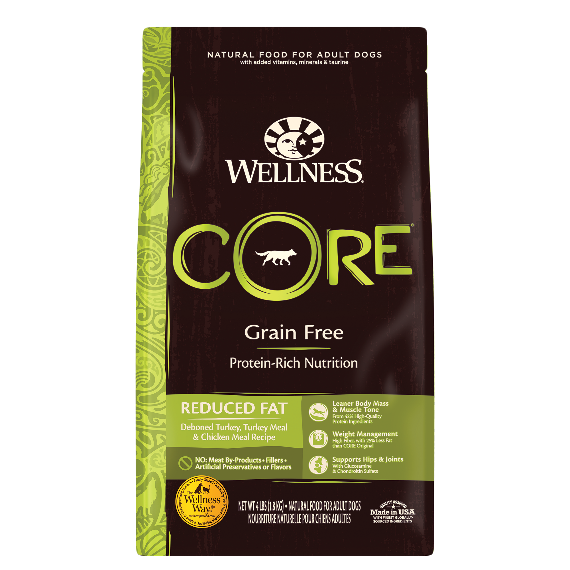 Wellness CORE Dry Dog Reduced Fat