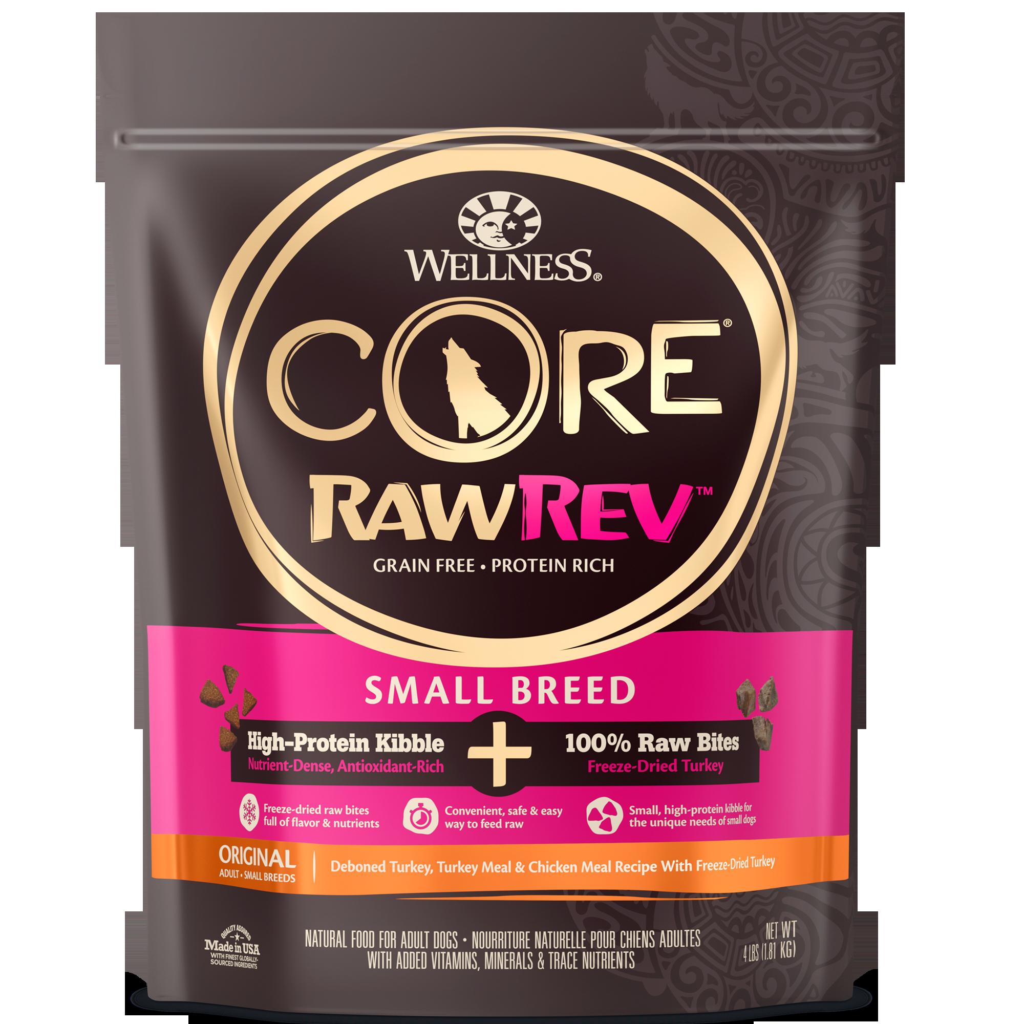 Core Rawrev Small Breed Small Breed 100 Raw Turkey