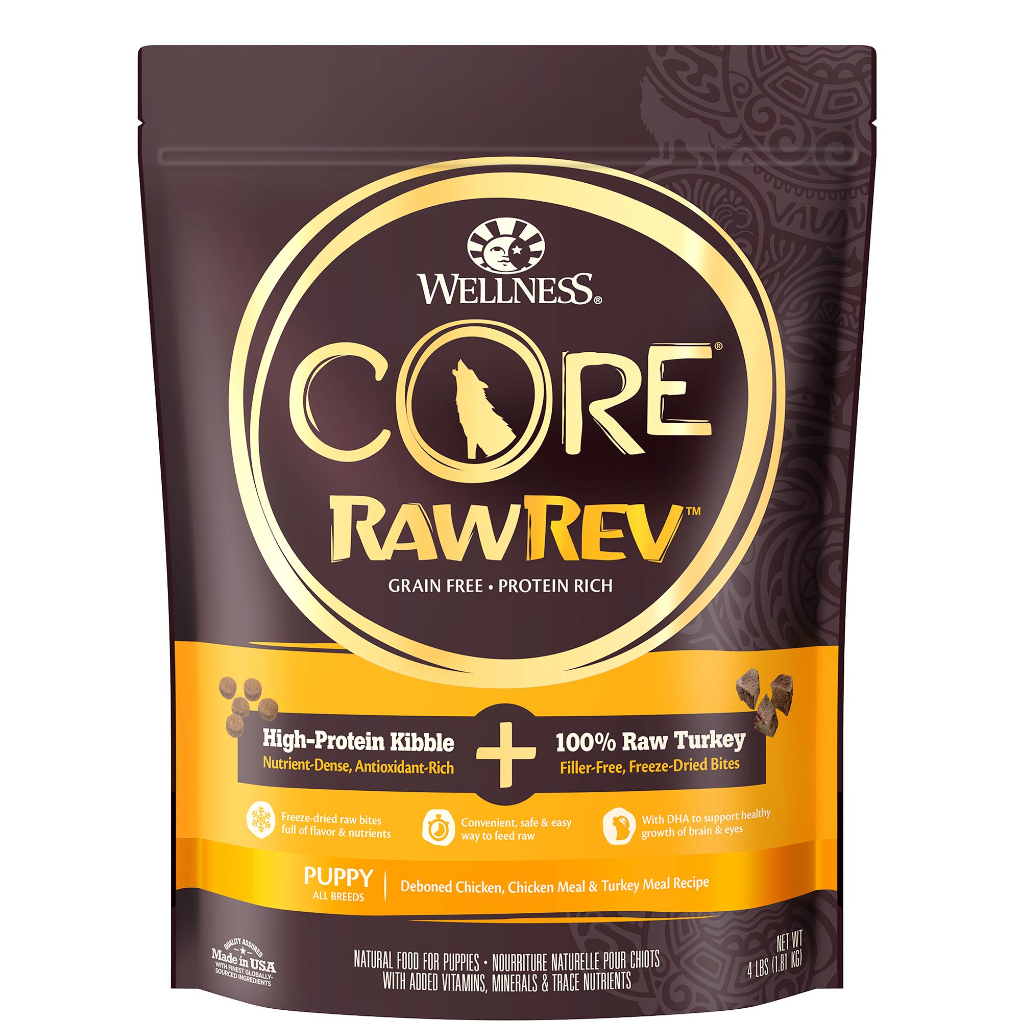 Core Rawrev Puppy Puppy Original 100 Raw Turkey Wellness Pet Food