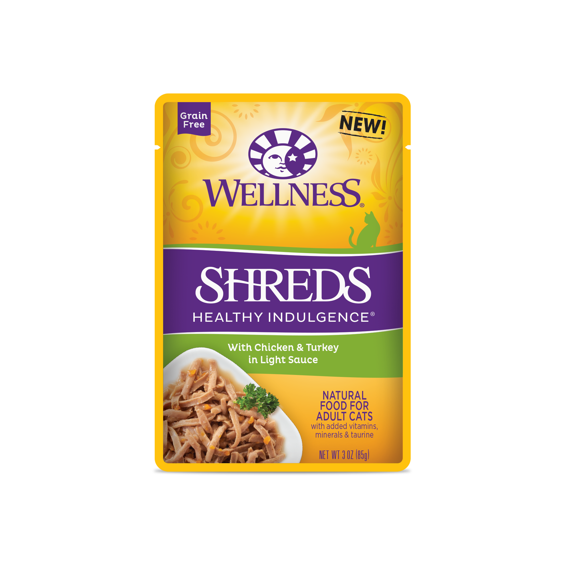 Healthy Indulgence 174 Shreds Chicken Amp Turkey Wellness Pet