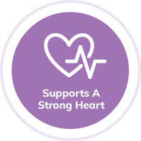 Supports a Strong Heart badge