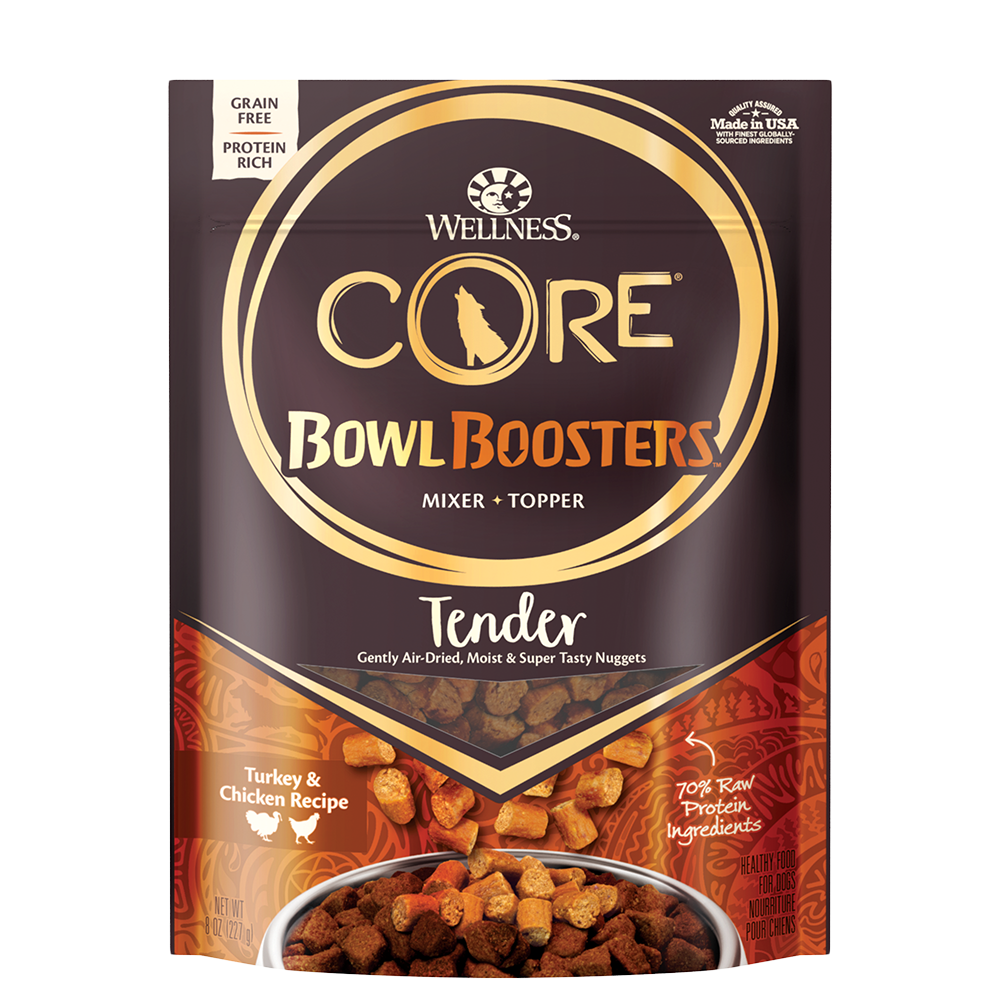 Wellness CORE Bowl Boosters TENDER Turkey & Chicken