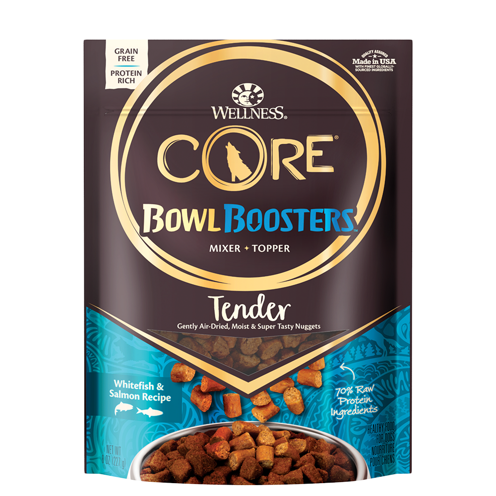 Wellness CORE RawRev Bowl Boosters TENDER Whitefish & Salmon