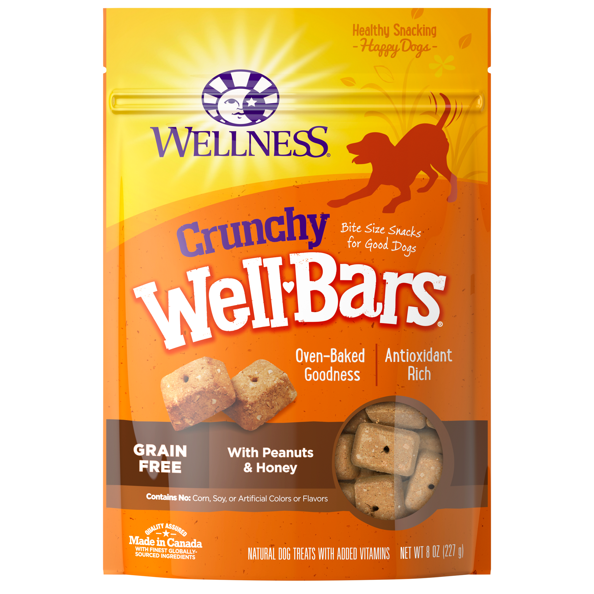 Wellbars Peanut Amp Honey Wellness Pet Food
