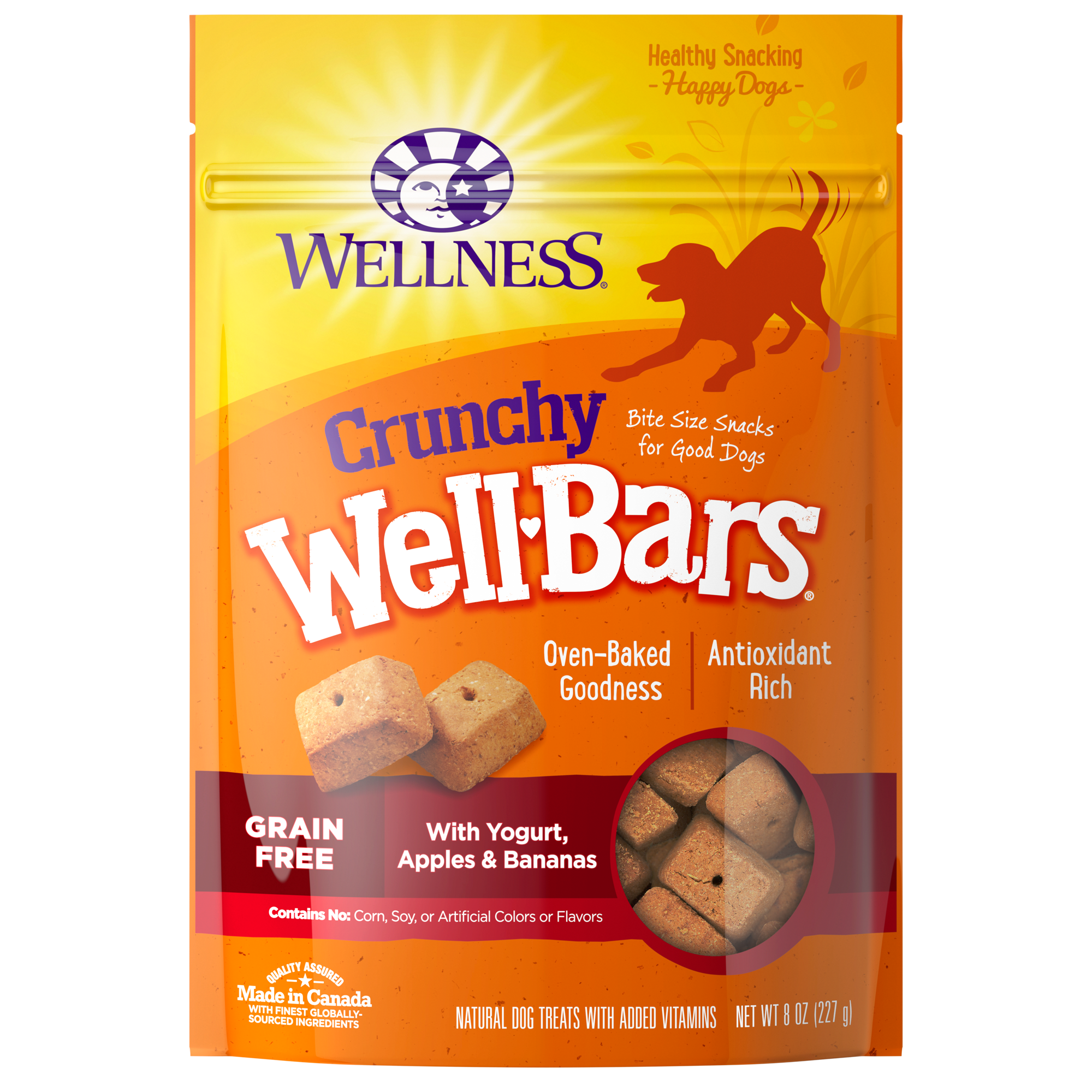 Wellbars Yogurt Apples Amp Bananas Wellness Pet Food