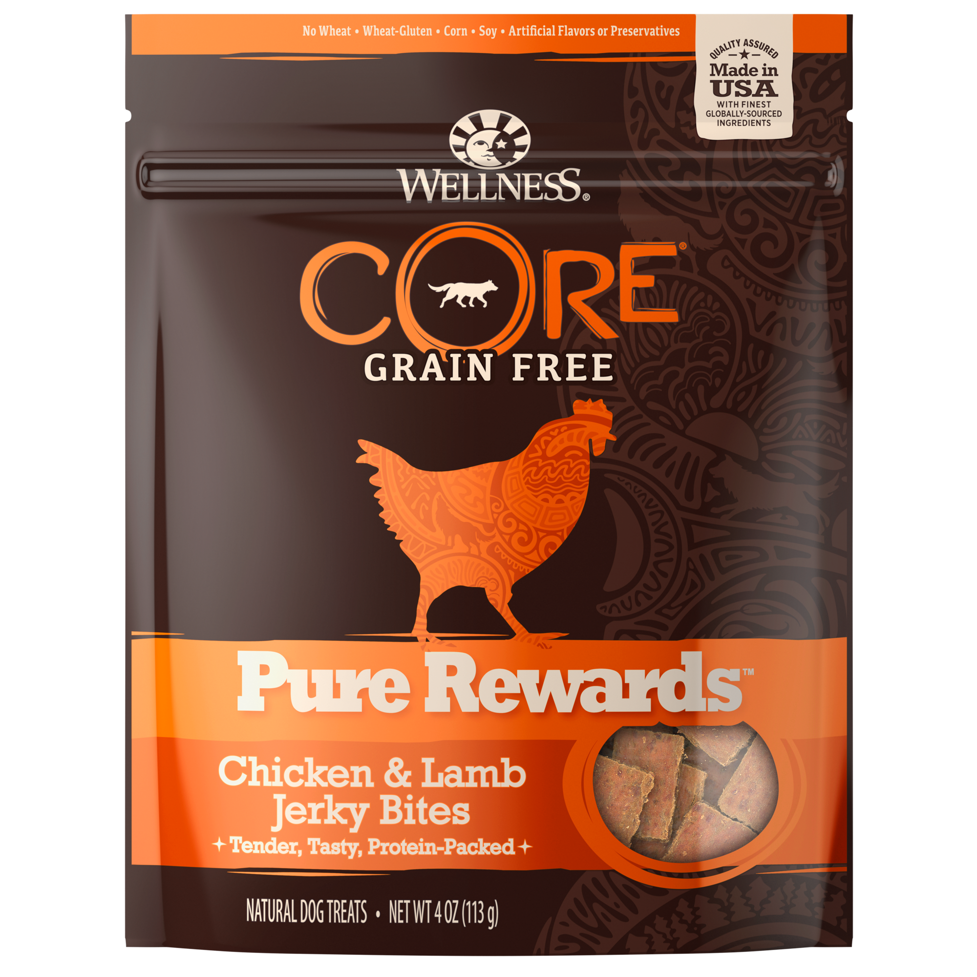 Treats Core Pure Rewards Chicken Lamb Dog