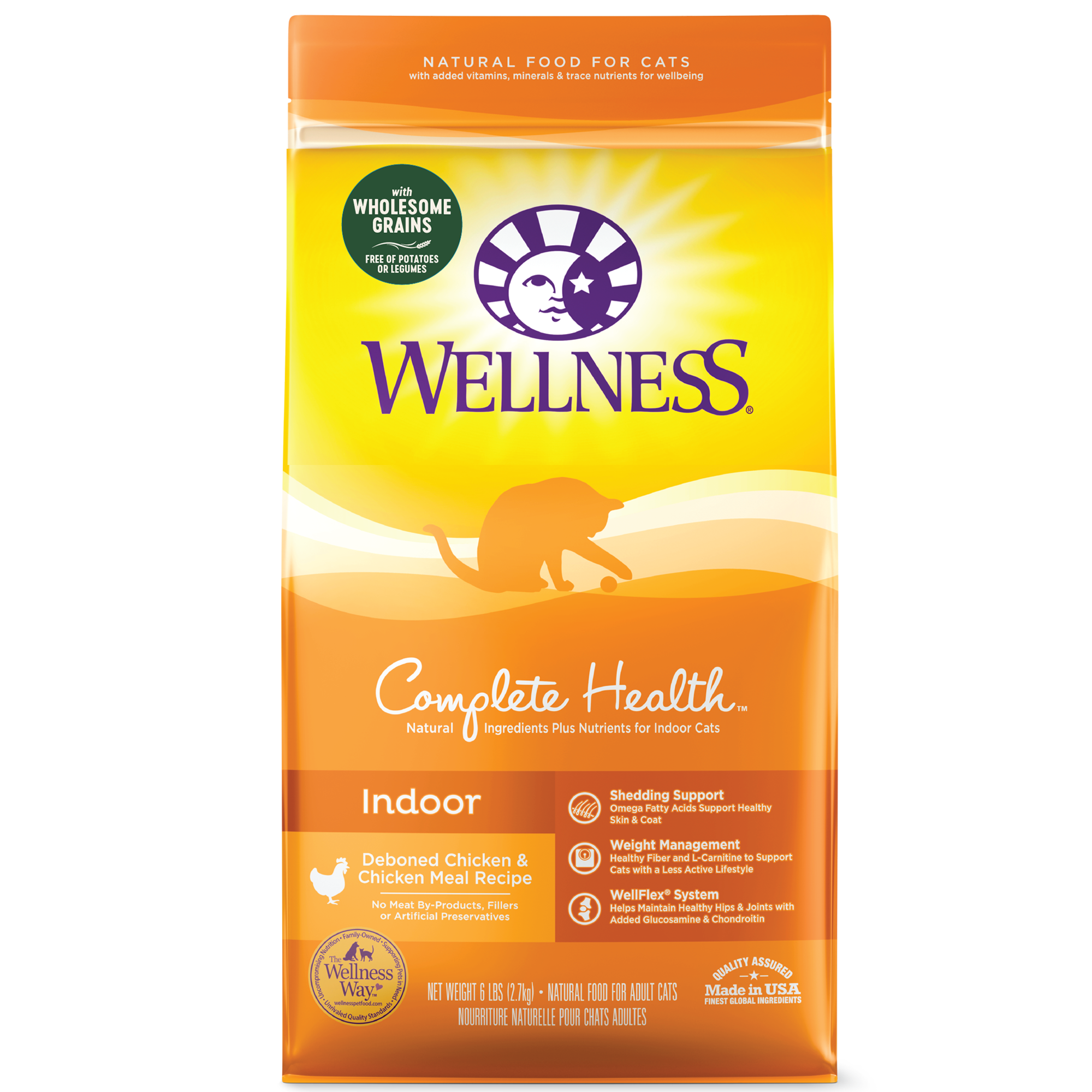 Wellness Complete Health Grains dry cat food