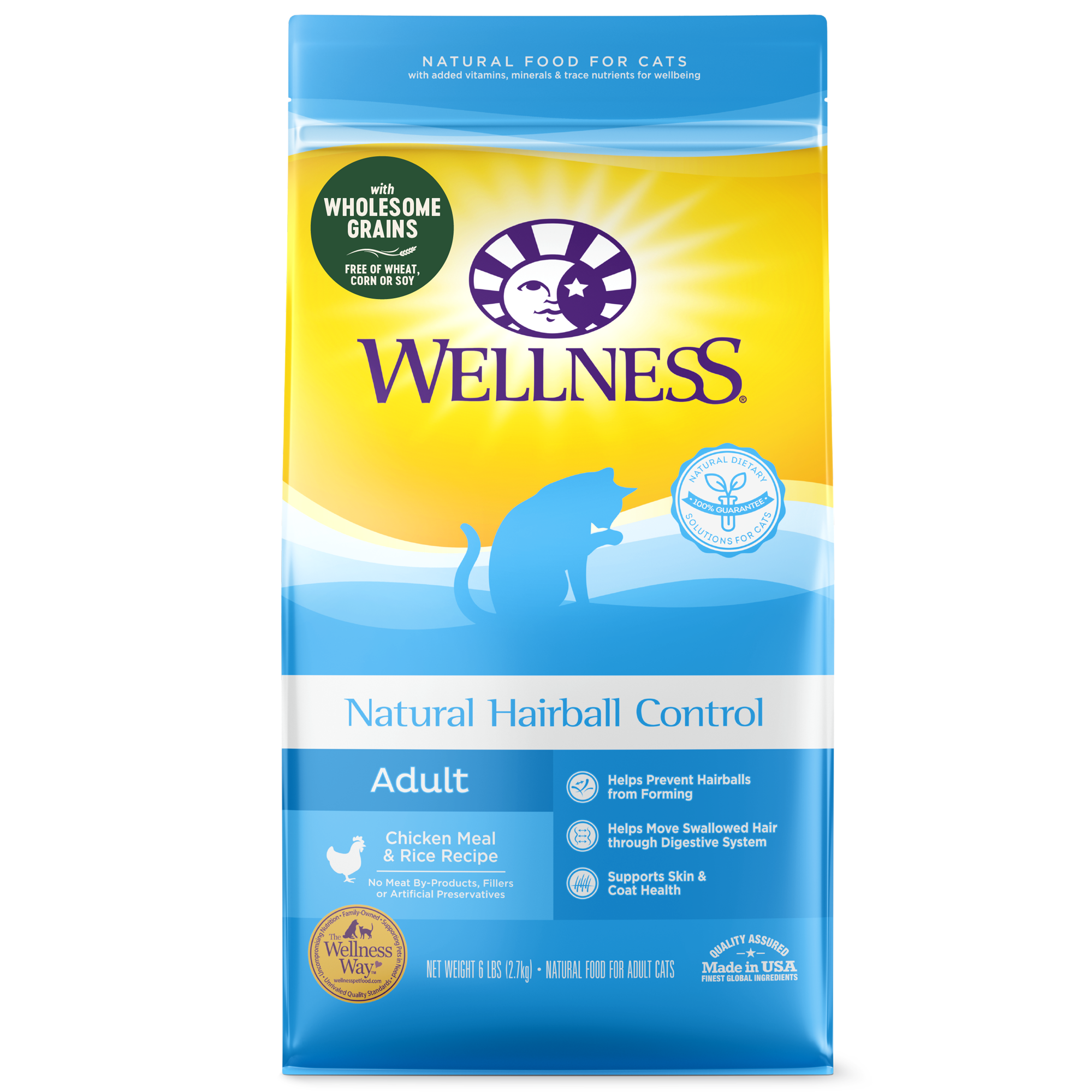 Wellness Complete Health Grains Hairball dry food