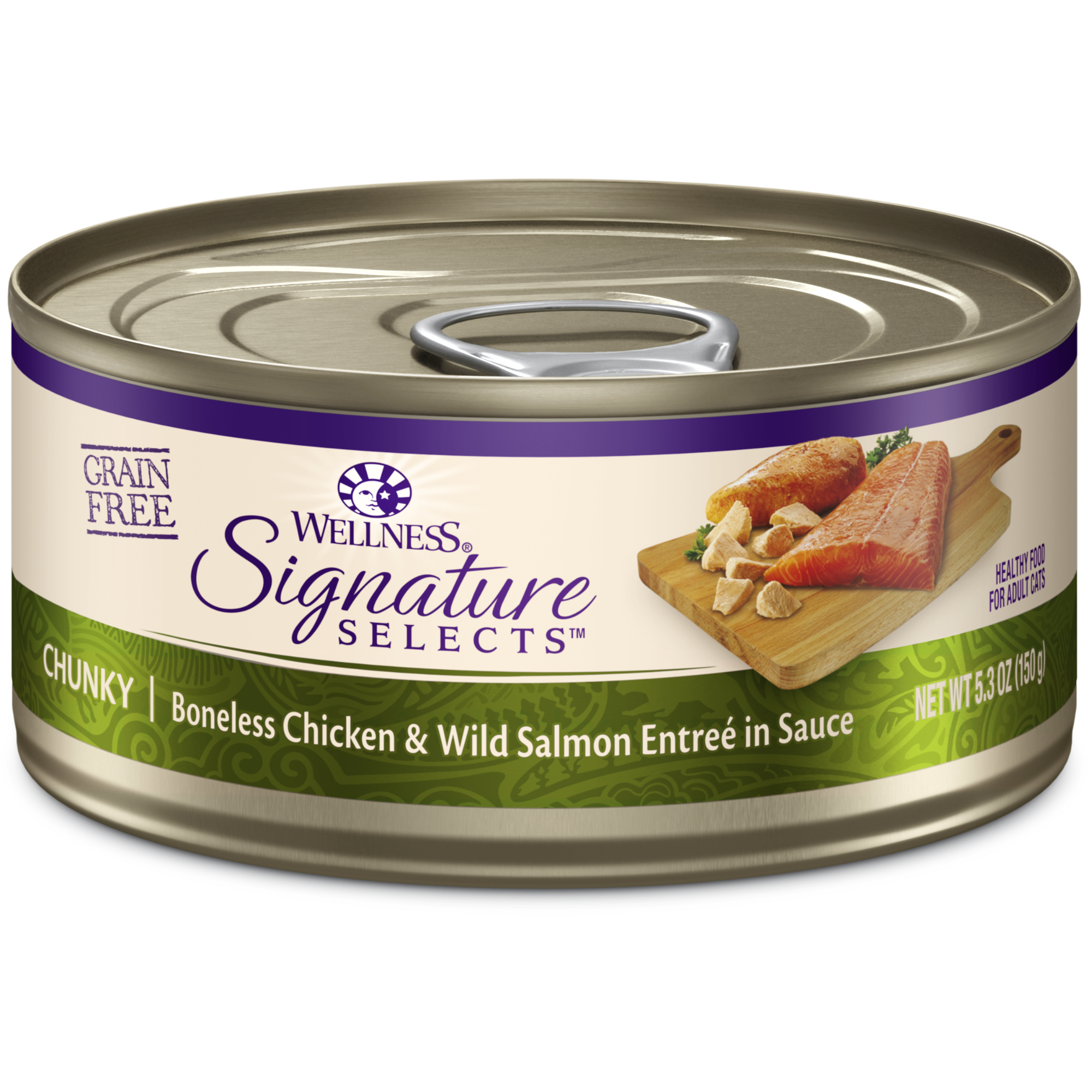 Signature Selects Chunky Chicken Wild Salmon