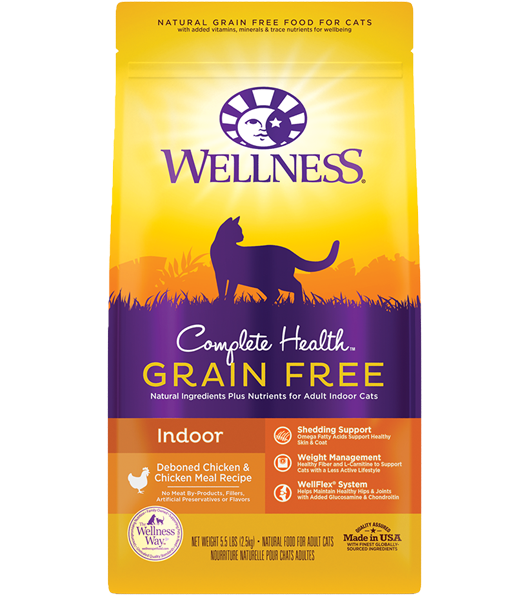 Wellness Complete Health Grain Free Indoor Chicken