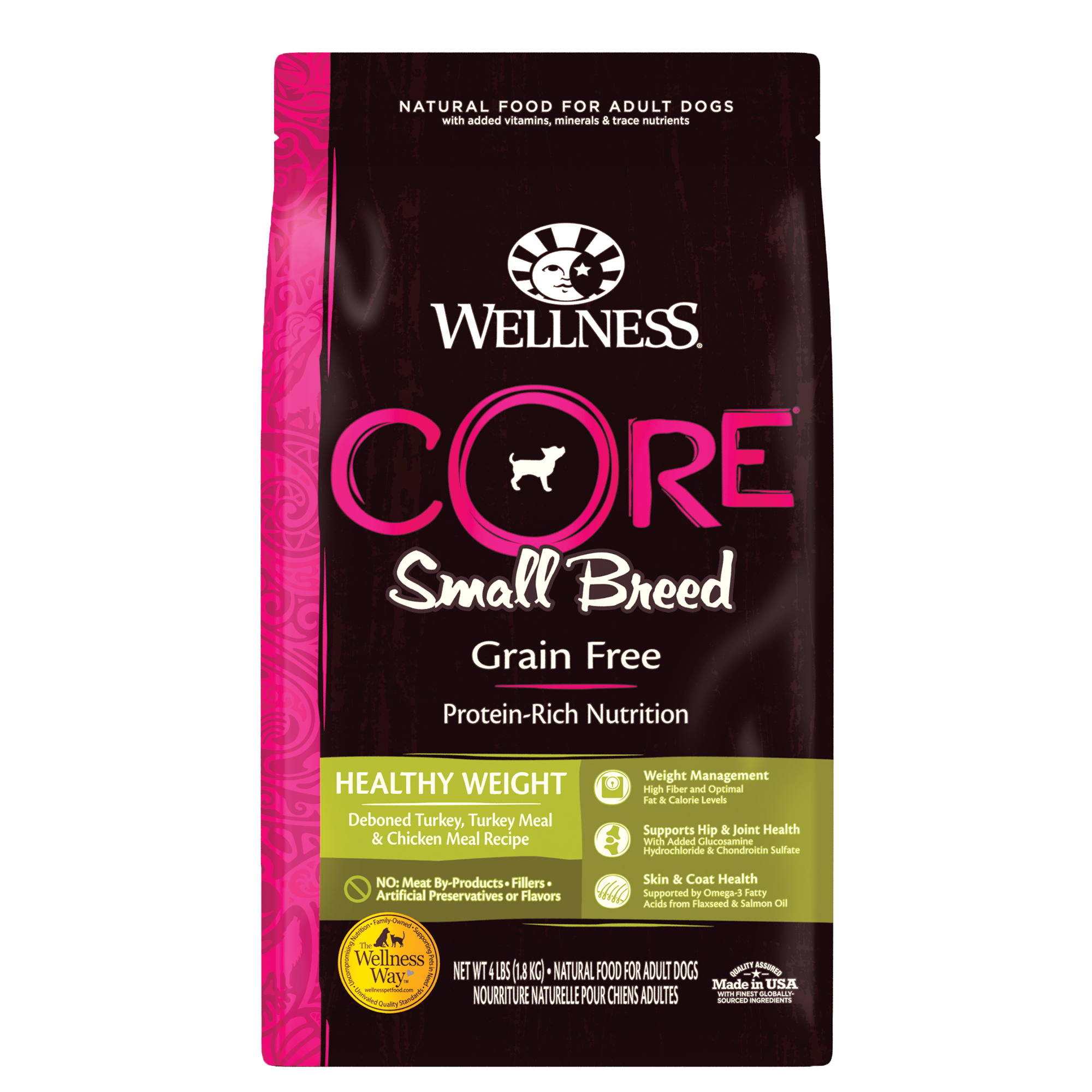 Wellness CORE Small Breed Healthy Weight dry dog food