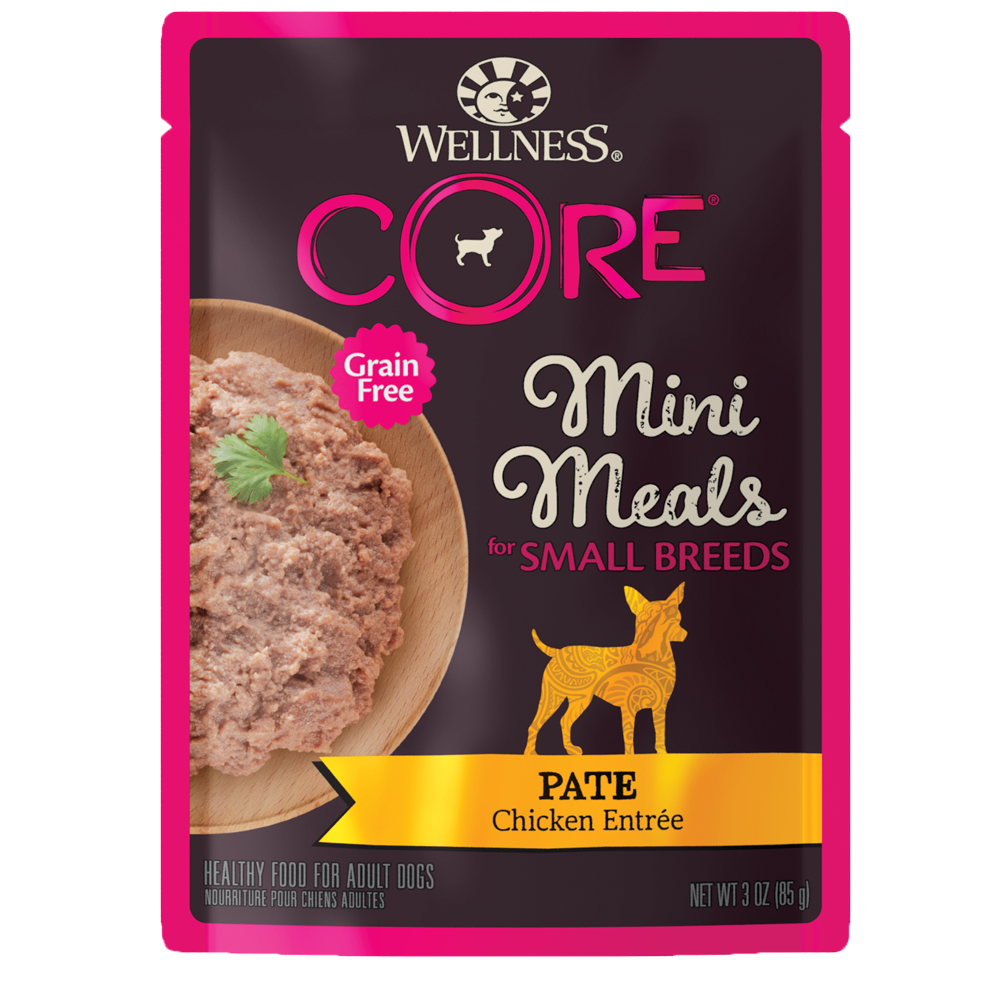 Wellness CORE Small Breed Mini Meals Pâté Chicken Entrée
