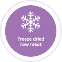 Free Dried Raw Meat